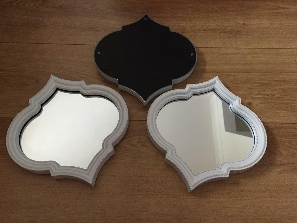 Matalan x3 Moroccan looking mirrors in great condition