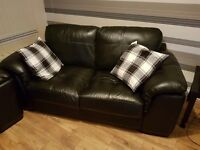 3 piece suite with circle swivel armchair