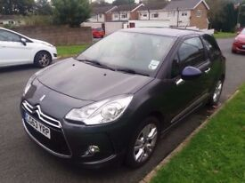 CITROEN DS3 2013 (63) £20 ROAD TAX, LEATHER SEATS, SERVICE BOOK, NEW MOT