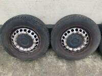 VW T5 wheels and bolts
