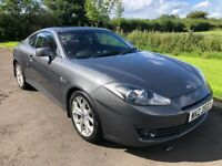Nov 2007 Hyundai Coupe 2.016v SIII 1yrs Mot 6mth warranty