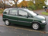 Vauxhall Zafira 1.8 CDX Automatic.Long MOT.2 owners from new.