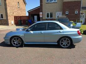 Subaru Impreza sti wr1