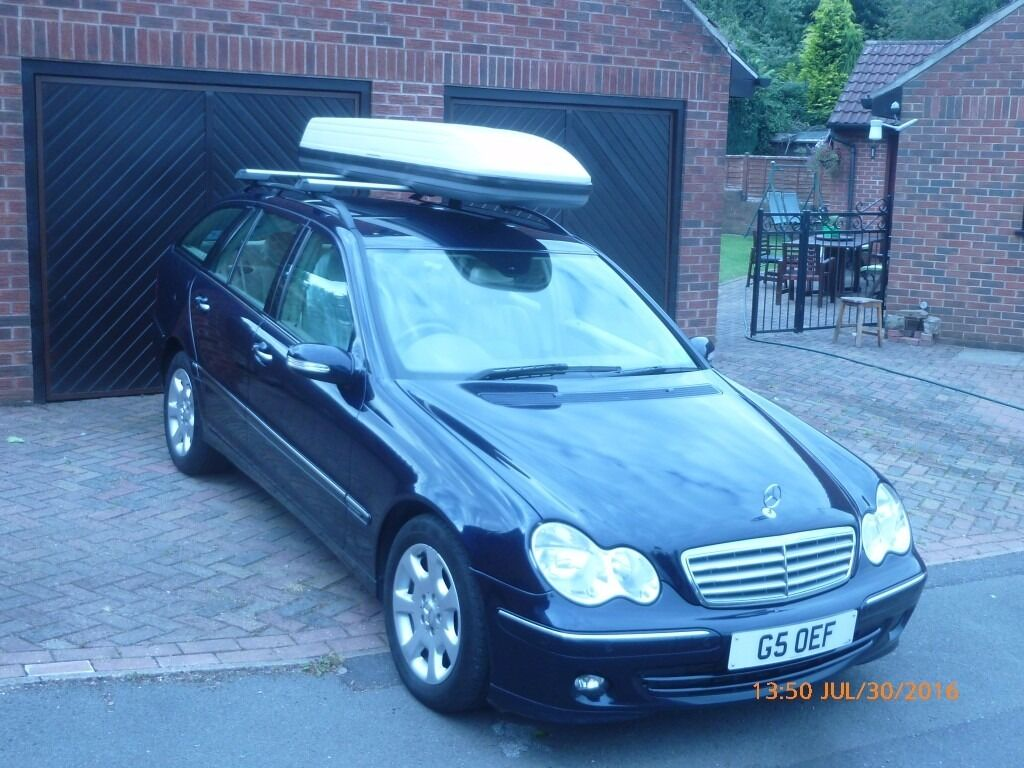 Genuine mercedes roof box top box lockable in derby for Mercedes benz roof box