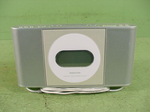 Memorex MC7101 Digital AM/FM Clock Radio With Front Loading CD Player~Working