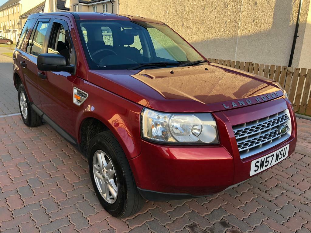 Winter 4wd Land Rover Freelander 2 Td4 22 Diesel 6 Speed Manual 2008 Year 144K FSH T Belt Changed