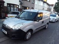 Vauxhall combo year 2013 tubo diesel 1.248 light silver panal van for quick sale