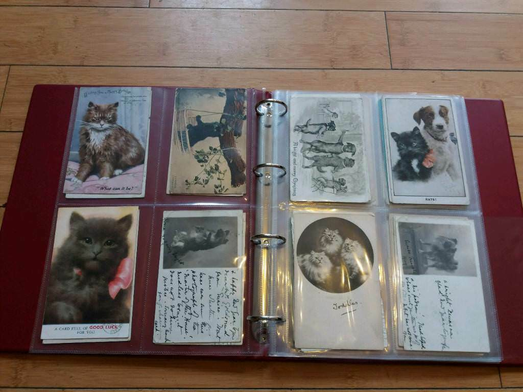 Postcards, Books, Stamps & Cigarette Cards.