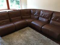 Lovely Corner 3 seat sofa + Chaise long (can all be separated)