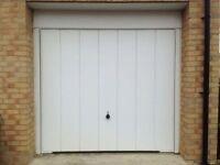 Almost New Garage Door