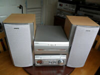 Sony MHC-W25 Stereo Hifi 200 Watt Speakers-CD-Twin Tape-Tuner