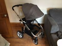 **BRAND NEW** iCandy Apple 2 pear with Newborn Nest and Rain Cover **BRAND NEW**