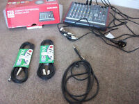 Allen & Heath Compact Professional Stereo Mixer ZED - 10FX WITH ACCESSORIES