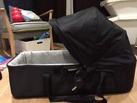 Black carry cot for Baby Jogger
