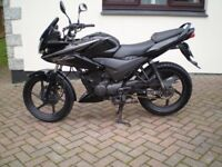 honda cbf 125 2013 only 12500 miles one owner from new