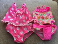 Swim suit 6-9 month old baby girl