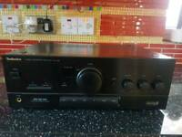 Technics stereo intergrated amplifier SU-X102 faulty/spares/repairs