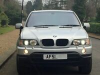 Low Mileage BMW X5 3.0 Sport Full Service History Top condition range rover freelander land x3