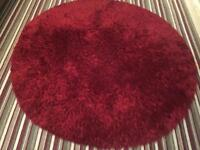 Large round shaggy rug for sale