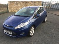 2009 59 FORD FIESTA 1.4 ZETEC - *LOW MILEAGE* - APRIL 2018 M.O.T - IDEAL 1st CAR, GOOD EXAMPLE!