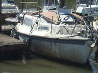 REDUCED!! MUST SELL !! Vivacity 24' Bilge Keeled Coastal Family Sailing Cruiser Yanmar 10hp inboard