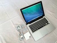 "MacBook Pro 13""3inch 750GB HD 8GB Memory 2.9 upto 3.9GHz Intel core i7 Intel HD graphic 4000 1536 MB"