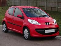 Peugeot 107 Urban 5dr (red) 2008