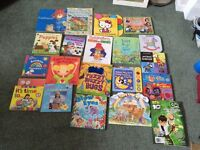 20 children's books for sale, mostly early years