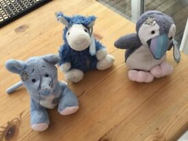 3 Blue Nose Toys. £9 for all 3 or will sell separately. Can post or collect from Torquay.