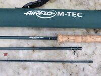 SINGLE HANDED LIGHT SALMON / SEA TROUT ROD AIRFLO 10FT 8 WT EXCELLENT CONDITION LOVELY ACTION