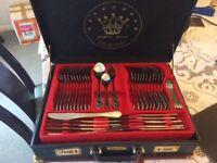 84 piece cutlery