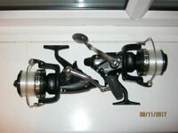 2 X Shimano medium long cast bait runners