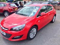 VAUXHALL ASTRA 1.7 CDTI, 2014, ONLY 33,000 MILES **FINANCE THIS FROM £33 PER WEEK**