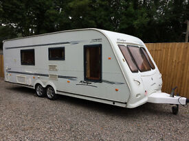 2005 compass rally fixed bed 4 berth ralley 23 foot 1900 maw pristine full end bathroom