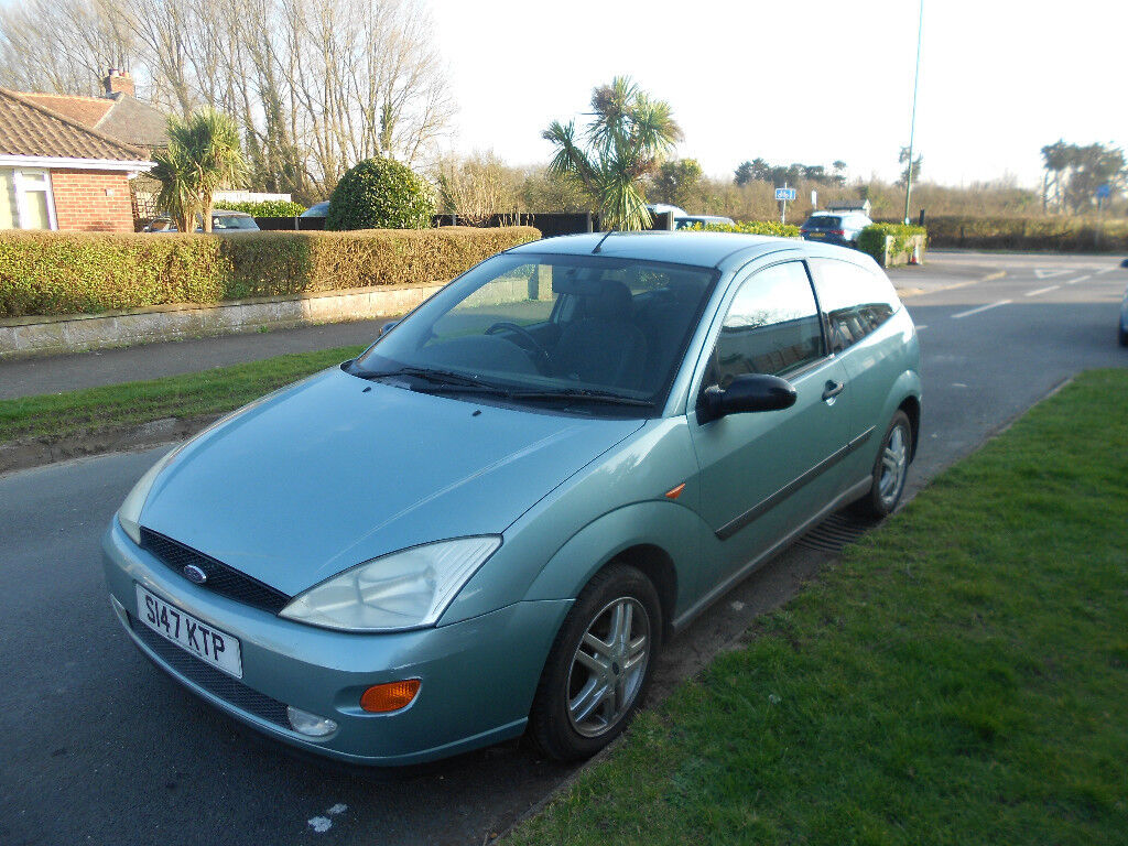1999 Ford Focus 1.8 Zetec 73k miles 3 door MOT Jan 2019 | in ...