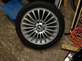 BMW 3 SERIES SPARE WHEEEL/TYRE FOR SALE, Radial Tubeless 225/45 ZR17