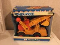 Vintage fisher price toy still in box