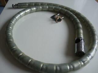 Motorcycle frank thomas security lock armoured cable with original 2 keys