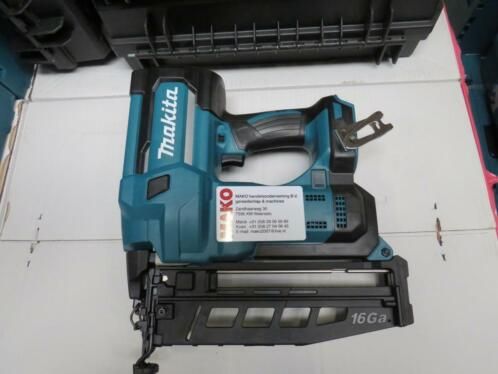 Makita DBN600Z 18V Li-Ion accu brad tacker body Nieuw