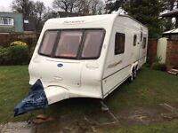 Bailey Senator Montana 5 birth twin axle 2004 with Isabella awning, top of the range caravan