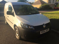 "Volkswagen caddy c20 starline 2014 ""64"" white"