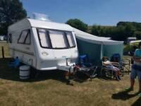 Elddis Avante 505 5 berth single axle caravan