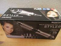 Silvercrest Multi-Function Hot Air Hair Styler - Brand New, Still Sealed