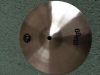 "SH stagg 10"" medium splash cymbal"
