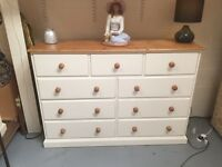 3 over 6 chest of drawers