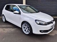 2011 VOLKSWAGEN GOLF 2.0 GT TDI 140 WHITE 3 DOOR NOT POLO SEAT LEON AUDI A3 A4 S LINE CIVIC TYPE R