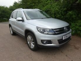 2011 (61) VW Tiguan 2.0tdi Sport 4motion, bluemotion
