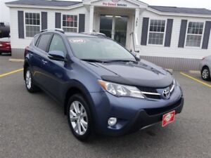 2013 Toyota RAV4 Limited with Nav $224.48 BIWEEKLY!!!