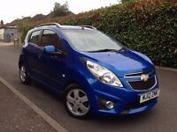 2012 Chevrolet Spark 1.2 LS+ 5dr, ONLY 7000 MILES