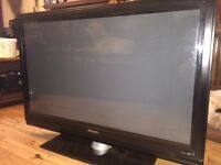 "Philips 42 "" inch HD ready Flatscreen TV with stand"